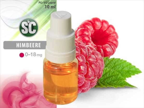 Silver Concept E-Zigaretten Liquid Himbeere Geschmack - lecker Dampfen