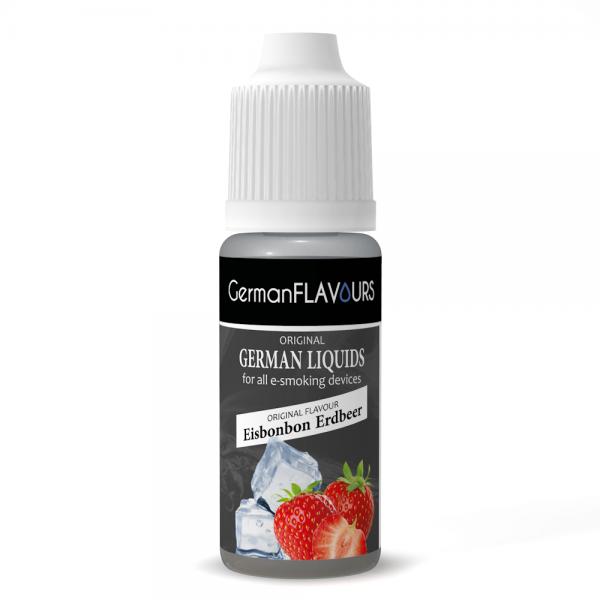 Germanflavours Liquid Eisbonbon / Erdbeer Geschmack E-Zigaretten Nachfüll Liquid