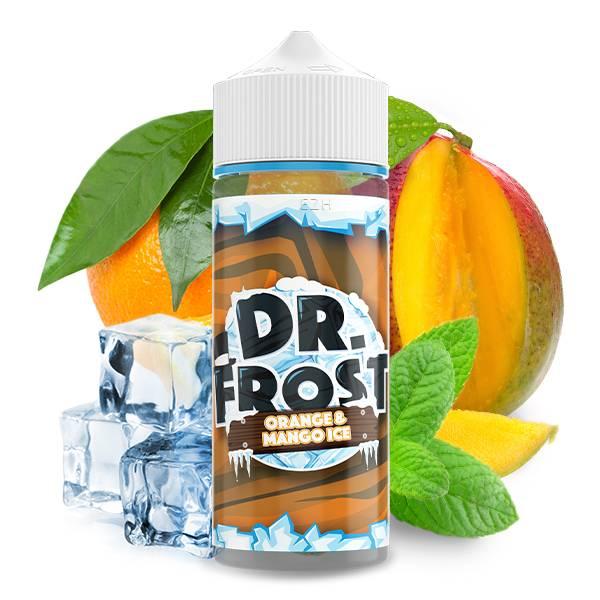DR. FROST - Orange Mango Ice UK Premium Liquid 100 ml Shake'n Vape Liquid