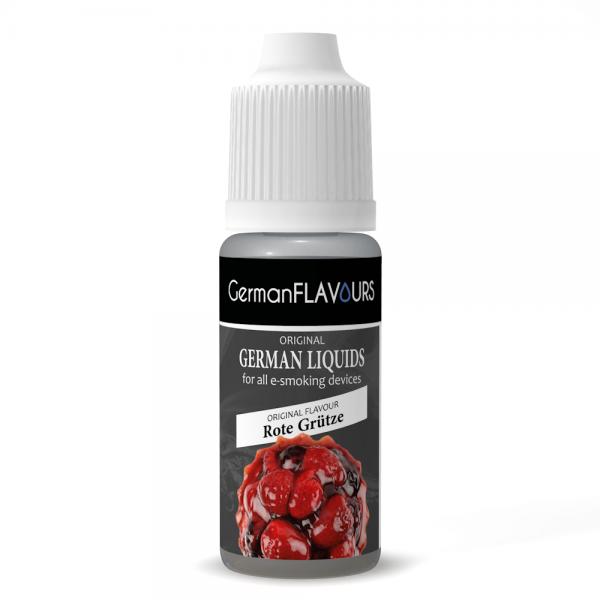 Germanflavours Liquid Rote Grütze Geschmack E-Zigaretten Nachfüll Liquid