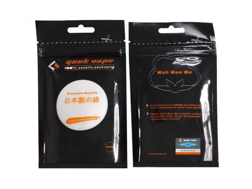 Geekvape Premium Japanische Baumwollwatte Organic Cotton für Selbstwickler