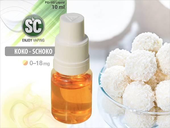 Silver Concept E-Zigaretten SC Liquid Koko-Schoko - exotischer Taste für Genussdampfer