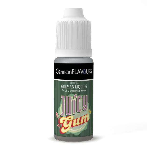 Germanflavours Liquid Juicy Gum Geschmack E-Zigaretten Nachfüll Liquid