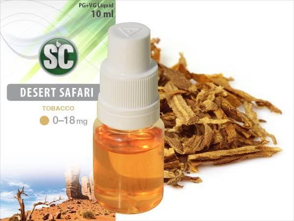 Silver Concept E-Zigaretten Tabak Liquid Desert Safari Tobacco