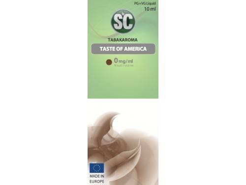Silver Concept E-Zigaretten Tabak Liquid Taste of America Tobacco