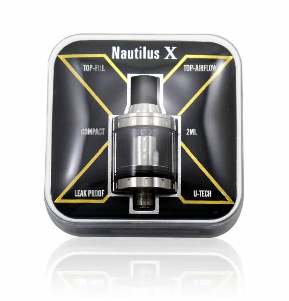 Aspire Nautilus X Clearomizer Verdampfer 2ml Einsteiger Auslaufsicher Topfill Dual Airflow