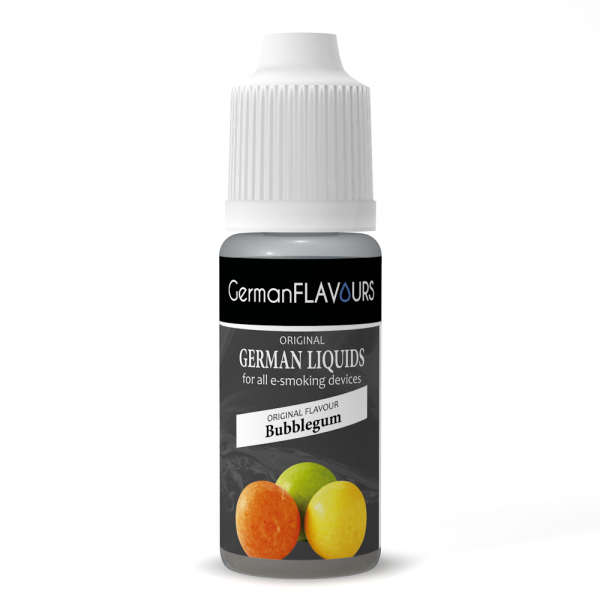 Germanflavours Liquid Bubblegum Geschmack E-Zigaretten Nachfüll Liquid