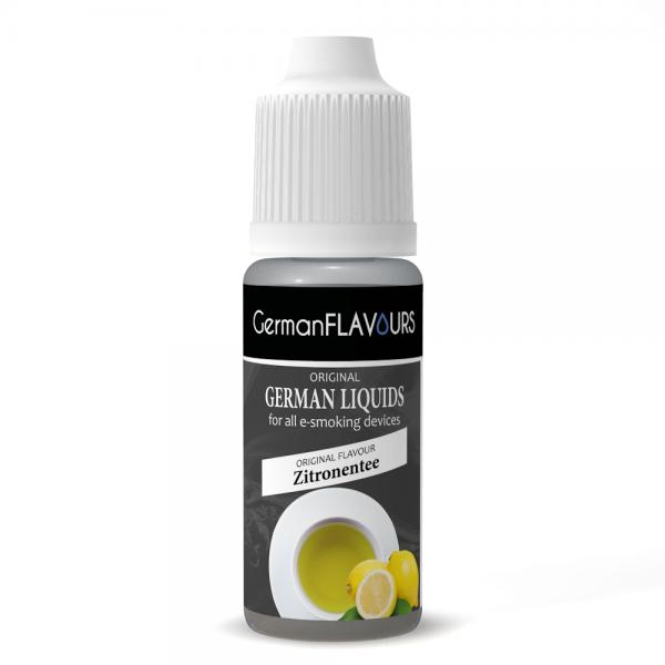 Germanflavours Liquid Zitronentee Geschmack E-Zigaretten Nachfüll Liquid