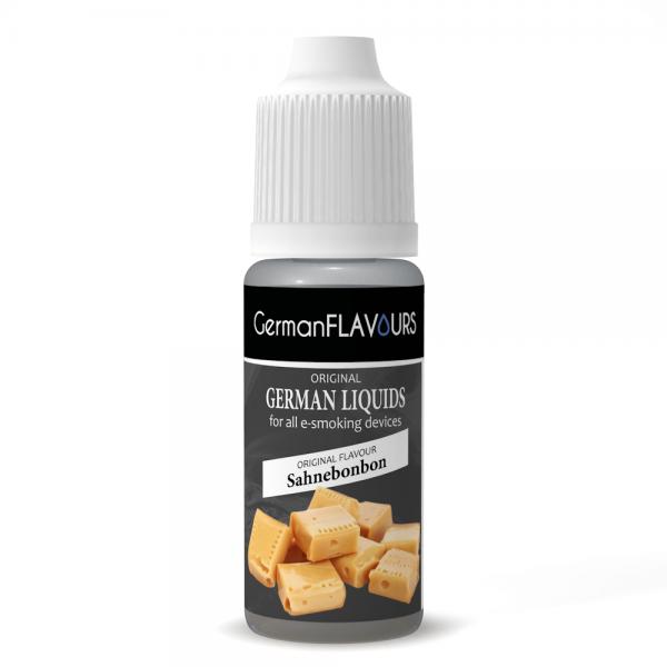 Germanflavours Liquid Sahnebonbon Geschmack E-Zigaretten Nachfüll Liquid