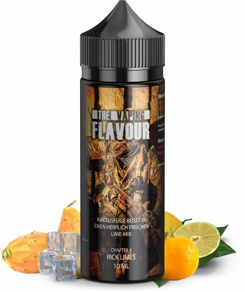 The Vaping Flavour Aroma Chapter 4 Rick Limes