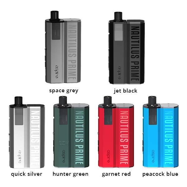Nautilus Prime E-Zigaretten Set mit 60W und 34ml Tank