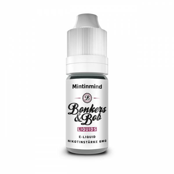 Bonkers & Bob Mintinmind Liquid E-Zigaretten Nachfüll Liquid
