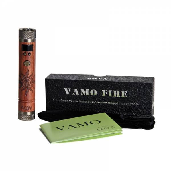 KSD Vamo Fire V6 Akkuträger Edelholzdesign mit Sonne 20W