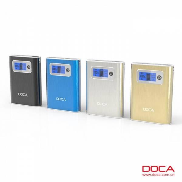 DOCA D568Q 10400mAh Powerbank mit zwei USB-Ausgängen Qualcomm Quick Charge 3.0