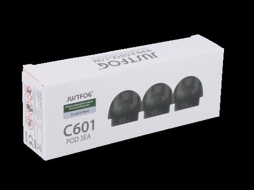 Justfog C601 Pod 1,7 ml 3er-Vorratspack