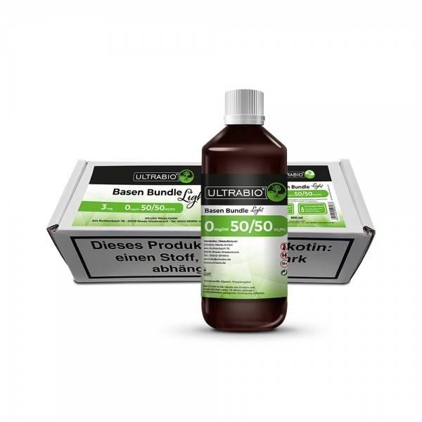 Ultra Bio Basen Bundle 1000 ml 50PG/50VG 3mg