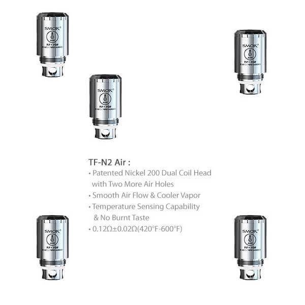 Smok TFV4 Taste Furious TF-N2 TC Dual Coils 0.12 Ohm temperaturgesteuert