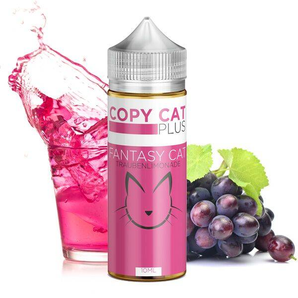 COPY CAT PLUS Fantasy Cat Aroma 10ml - incl. 100ml Chubby Flasche