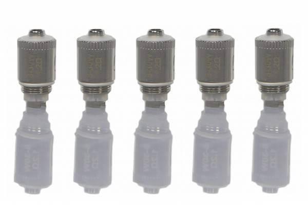 SC GS Air pure Cotton 1,2Ohm oder 0,75 Ohm Dual Coil Ersatz Verdampfer (5 Stück) Neuheit