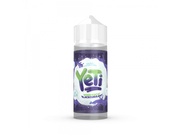 Yeti - Honeydew-Blackcurrant - 0mg/ml 100ml