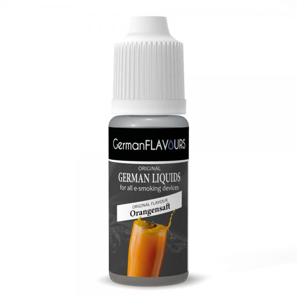 Germanflavours Liquid Orangensaft Geschmack E-Zigaretten Nachfüll Liquid