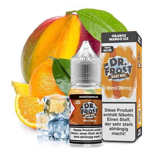 Dr Frost - Polar Ice Vapes Orange Mango Ice Nikotinsalz Liquid 20mg/ml