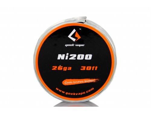 Geekvape Selbstwickler Ni-200 Wickeldraht 26GA - 28GA - 32GA