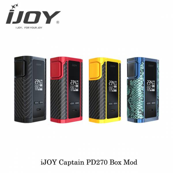 iJoy Captain PD270 Farbauswahl
