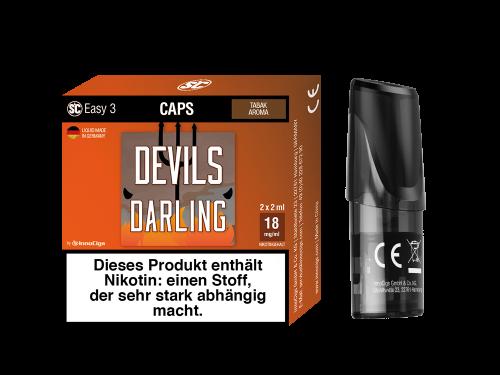 Easy 3 Caps Devils Darling Tabak (2 Stück pro Packung)