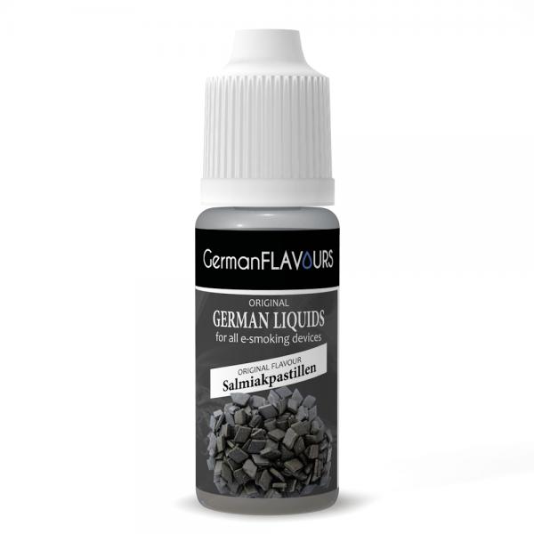 Germanflavours Liquid Salmiak Geschmack E-Zigaretten Nachfüll Liquid