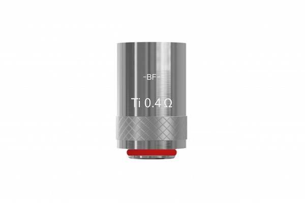 Innocigs Joyetech Cubis Ersatzcoils BF-Ti Titan Temperatur Ersatzverdampfer 0,4Ohm 5 Stück Packung