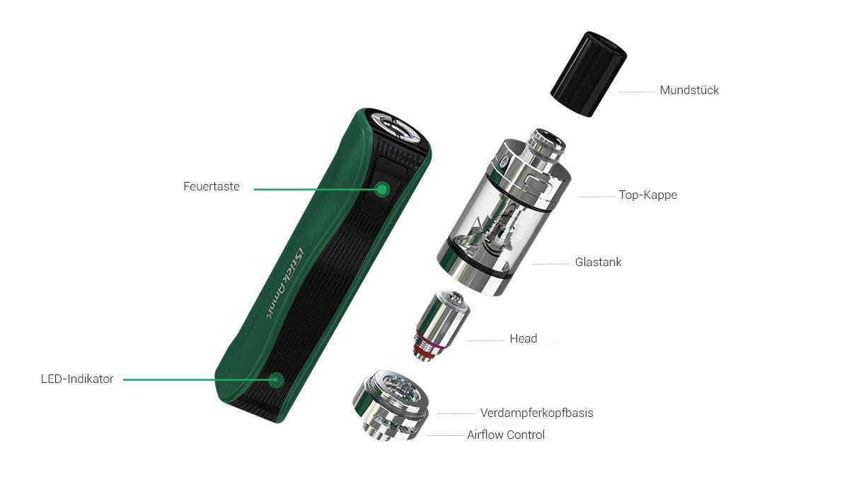 Istick Amnis E-Zigarette für Anfänger
