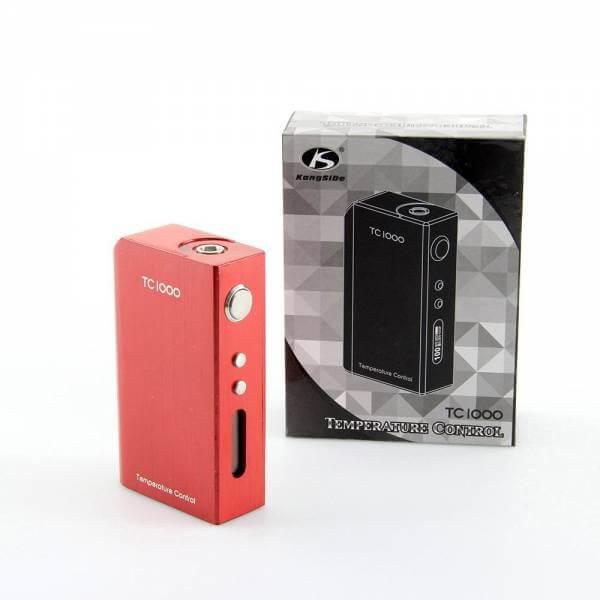 KSD TC 1000 Box 100 W Temperaturgesteuerter Akkuträger für 2x18650mA Akkus