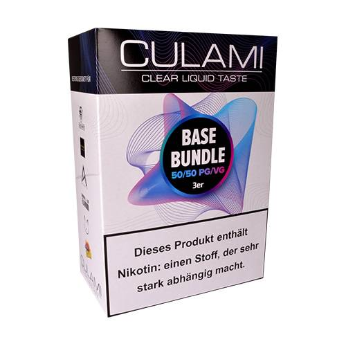 CULAMI Power Base Basenbundle 50PG/50VG für 3mg