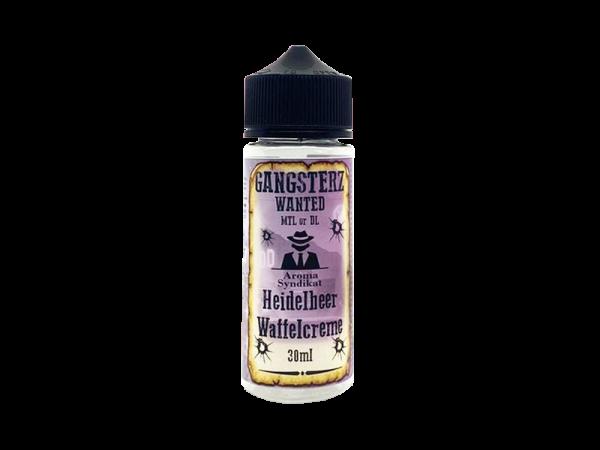 Gangsterz - Aroma Heidelbeer Waffelcreme 30ml
