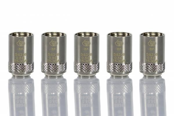 Innocigs Joyetech Cubis Ersatzcoils 0,5 Ohm oder 1,0Ohm Ersatzverdampfer 5er Pack