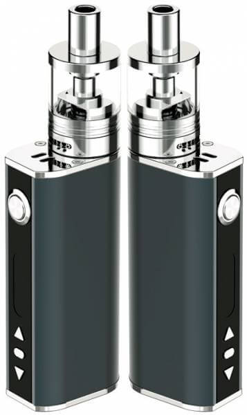 Silver Concept Eleaf iStick 40Watt Temperaturgesteuert (auch Sub Ohm) Komplettset 2600 mAh