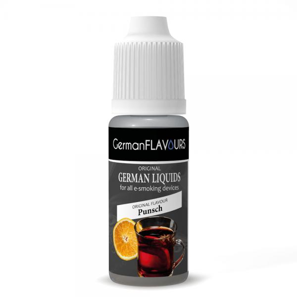 Germanflavours Liquid Punsch Geschmack E-Zigaretten Nachfüll Liquid