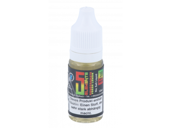 5Elements - Pomegrenate Lemon - Nikotinsalz Liquid 18mg/ml