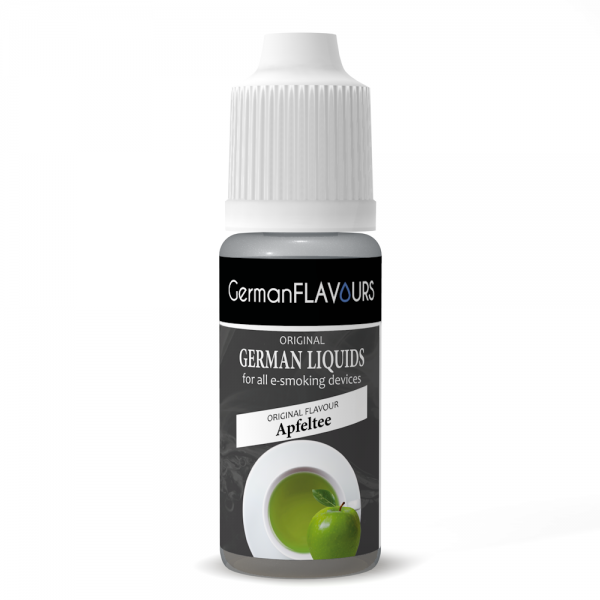 Germanflavours Liquid Apfeltee Geschmack E-Zigaretten Nachfüll Liquid