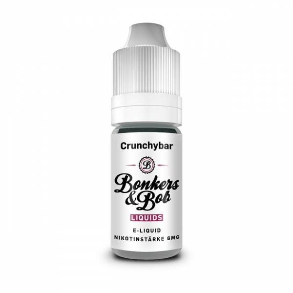 Bonkers & Bob Crunchybar Liquid E-Zigaretten Nachfüll Liquid