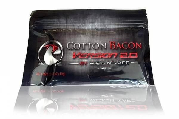 Cotton Bacon v2 - Baumwollwatte für Selbstwickler von Wick N' Vape USA