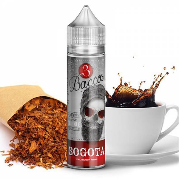3 Baccos by PGVG - Bogota - 15ml Aroma (Longfill)