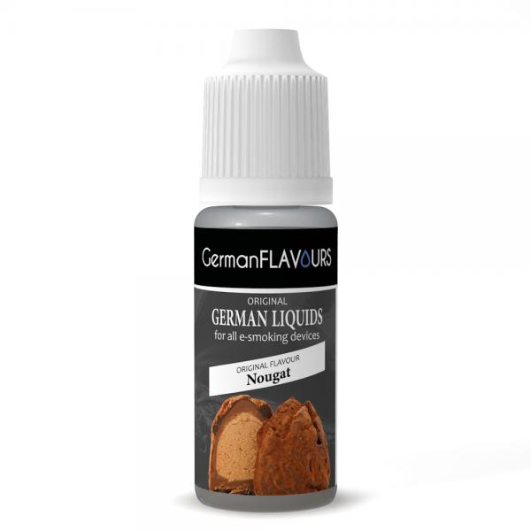 Germanflavours Liquid Nougat Geschmack E-Zigaretten Nachfüll Liquid