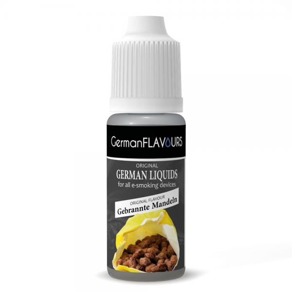 Germanflavours Liquid Gebrannte Mandel Geschmack E-Zigaretten Nachfüll Liquid