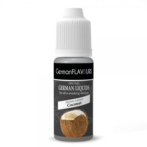Germanflavours Liquid Coconut Geschmack E-Zigaretten Nachfüll Liquid
