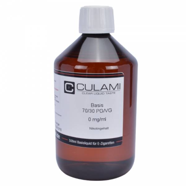 CULAMI Dripper Base 0mg 1 Liter 30PG/70VG