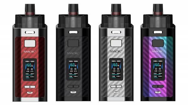 Smok RPM160 E-Zigaretten Set mit 7,5ml Tank und 160W