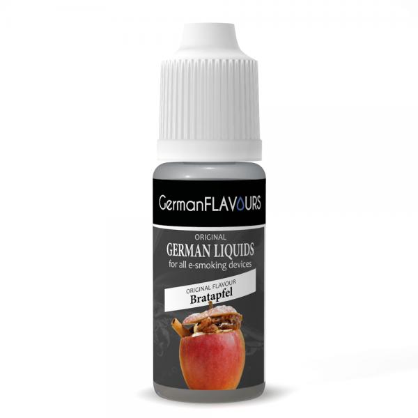 Germanflavours Liquid Bratapfel Geschmack E-Zigaretten Nachfüll Liquid