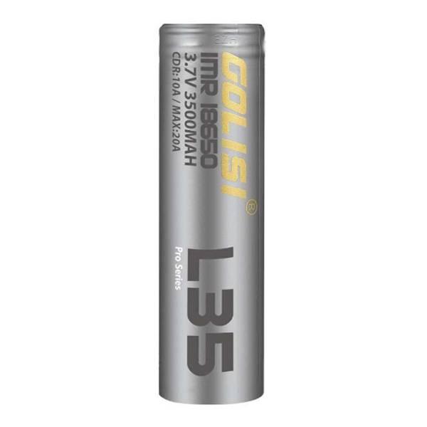 Golisi L35 18650 max. 20A 3500mAh Akkuzelle E-Zigarette